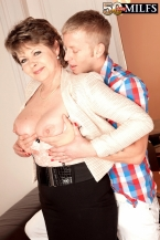 Young pupil strikes chord with 54-year-old MILF/GILF