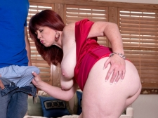 Heather's Arse Meets Hard Cock