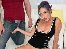 Sadie's first-ever porn video: This babe receives ass-fucked!