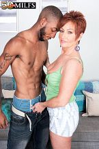 Young, dark penis for SEXY HOUSEWIFE Ruby O'Connor