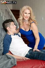 Lacy's future son-in-law screws her constricted ass